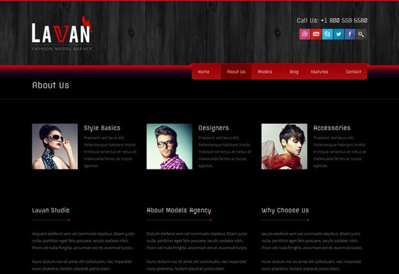 Fashion Agency WordPress Theme