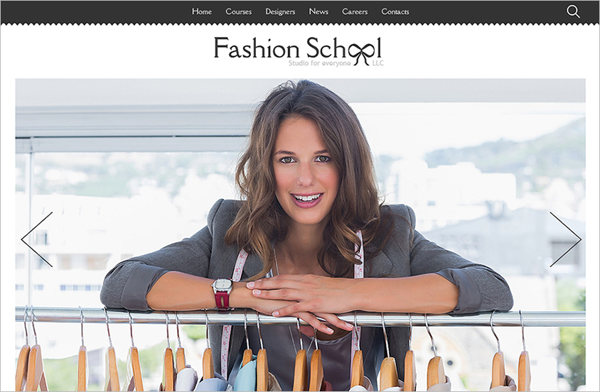 Fashion Designer Joomla Template