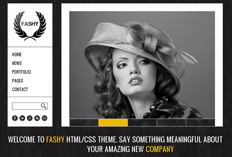 Fashion HTML Template