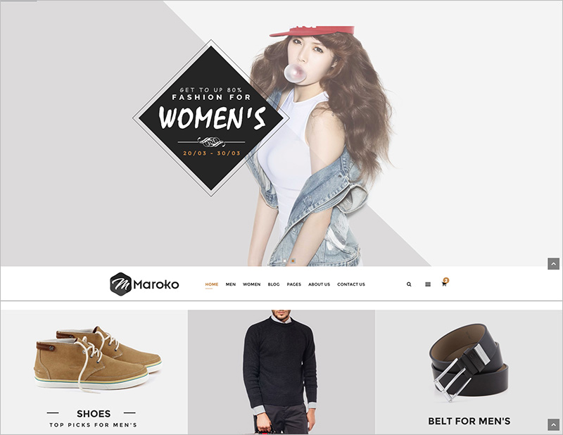Fashion Html5 Template