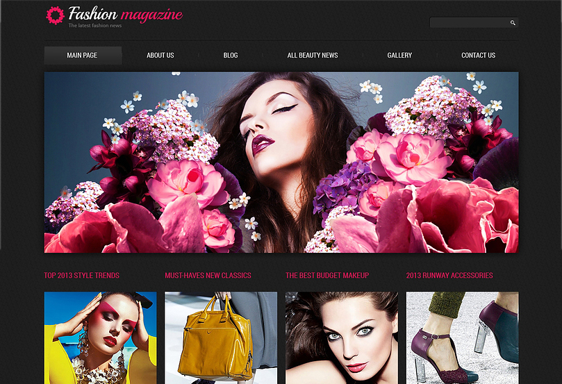 Fashion Magazine Blog Joomla Template
