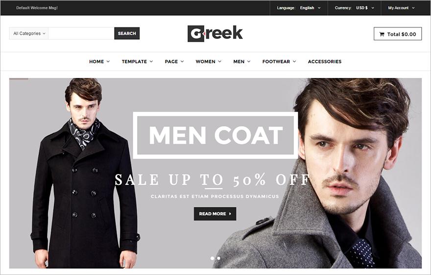 Fashion Online Store Joomla Template