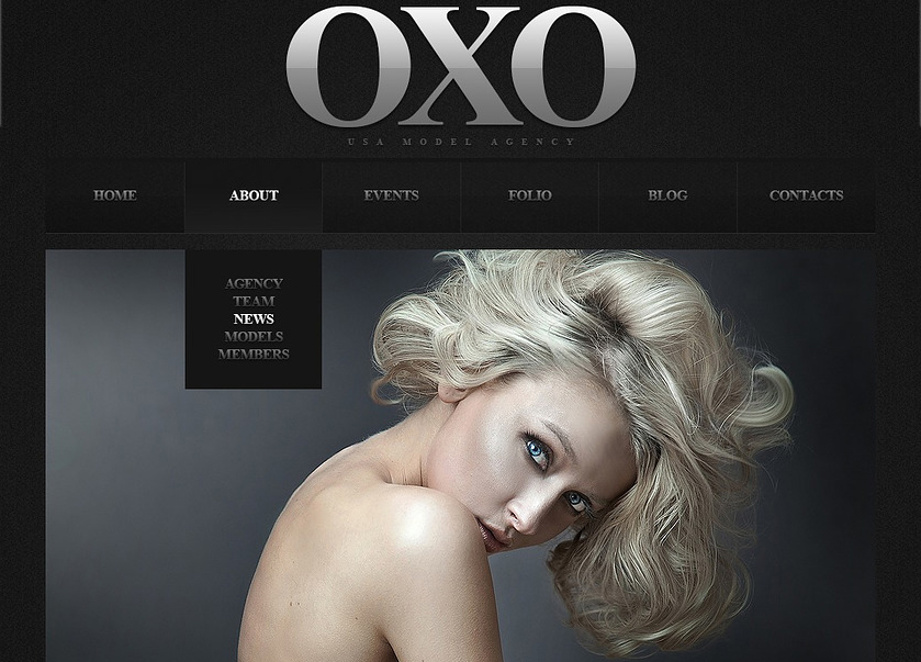 Fashion Portfolio & Agency Joomla Template