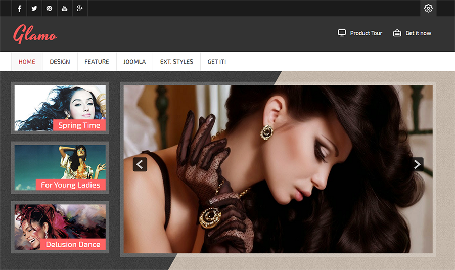 Fashion & Retail Website Joomla Template