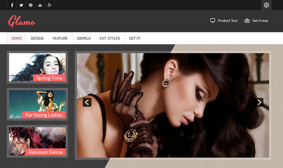 Fashion & Retail Website Joomla Template