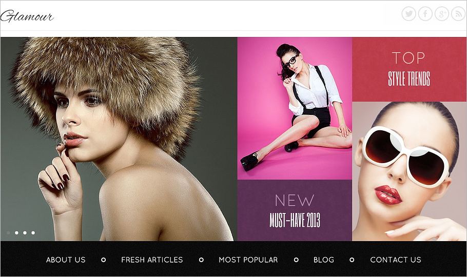 Fashion Store Joomla Template