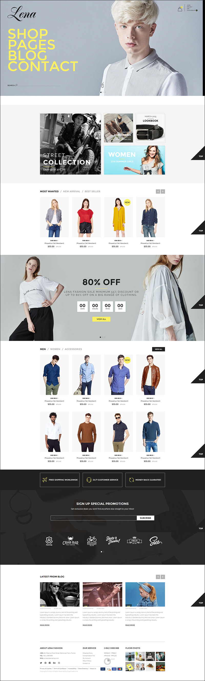 Fashion Template HTML5