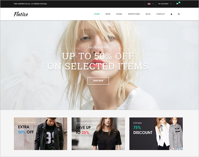 Fashion eCommerce HTML Template