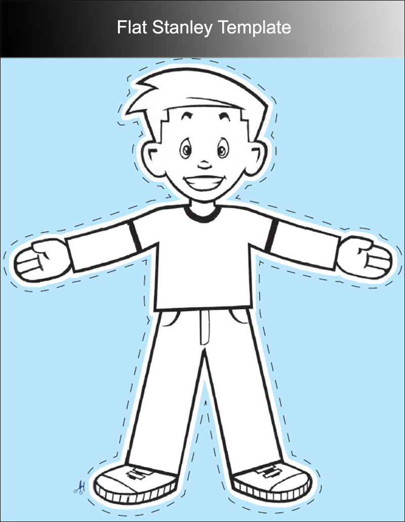 free printable flat stanley template 45 flat stanley templates free download creative template