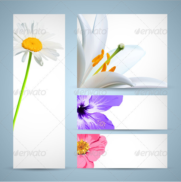Flower Bloom Template