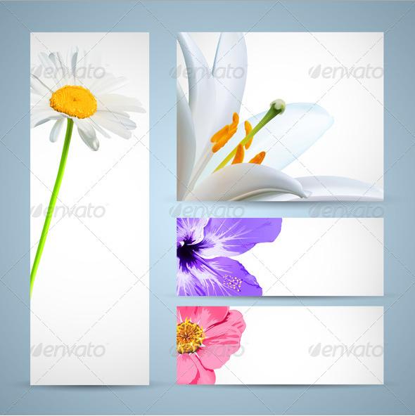 Flower Bloom Template