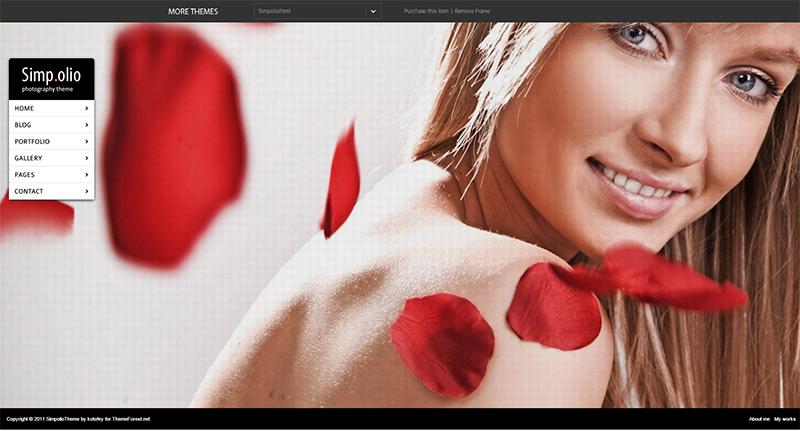 Fullscreen Portfolio & Blog HTML Theme