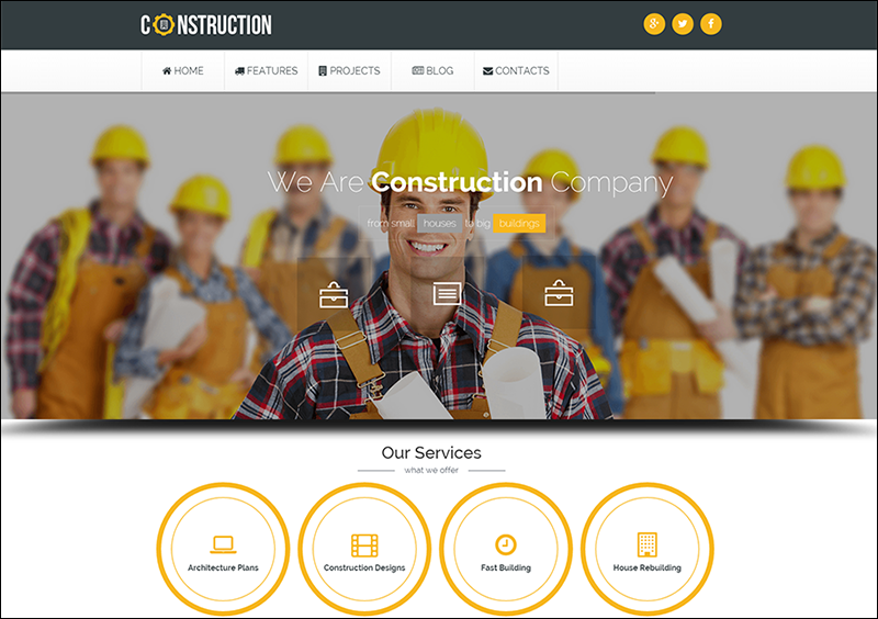 Fully Responsive Industrial Joomla Template