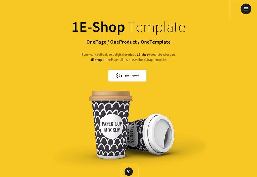 Fully Responsive Landing Page Template