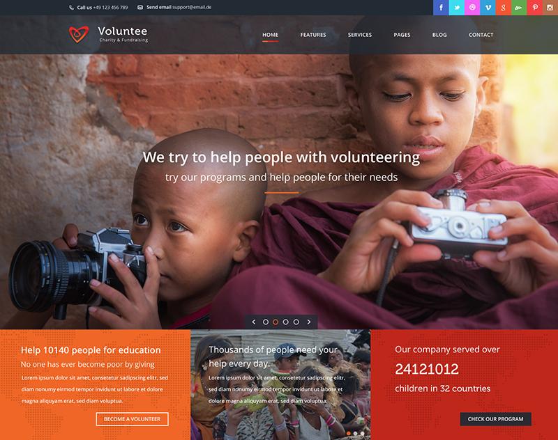 Fund Raising HTML Template
