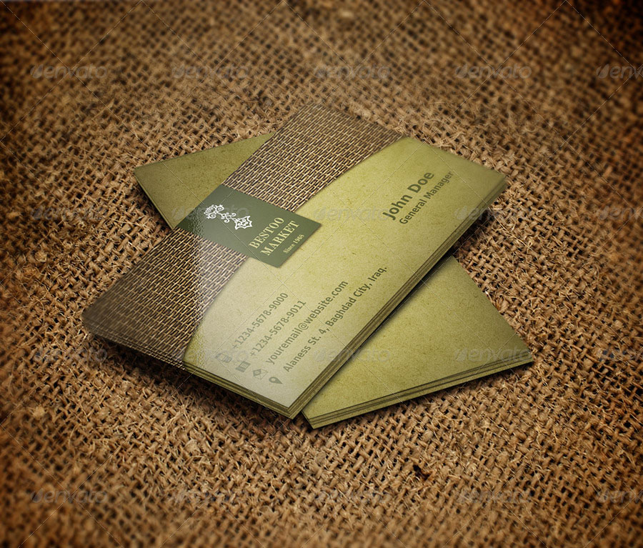35+ Marketing Business Card Templates Free Designs