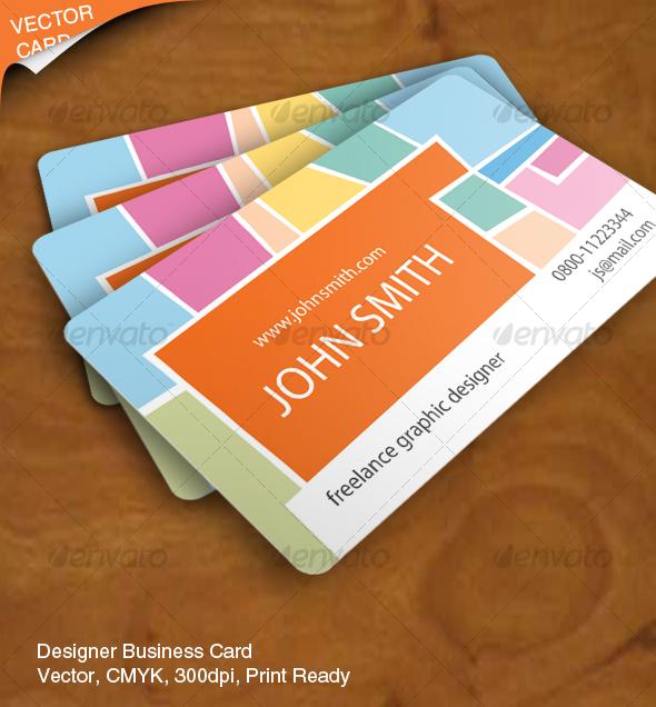 Graphic Designer Business Card Inspiration
