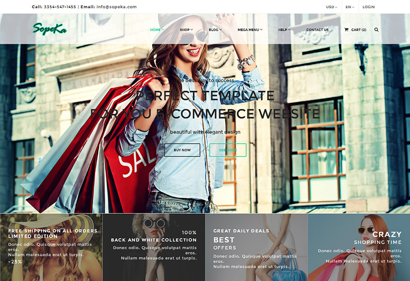 HTML Fashion Website TemplateS