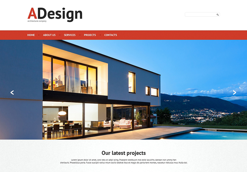 HTML Template for Construction Company