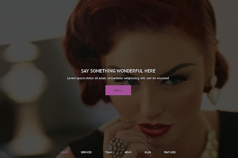 Hair Salon Premium WordPress Theme