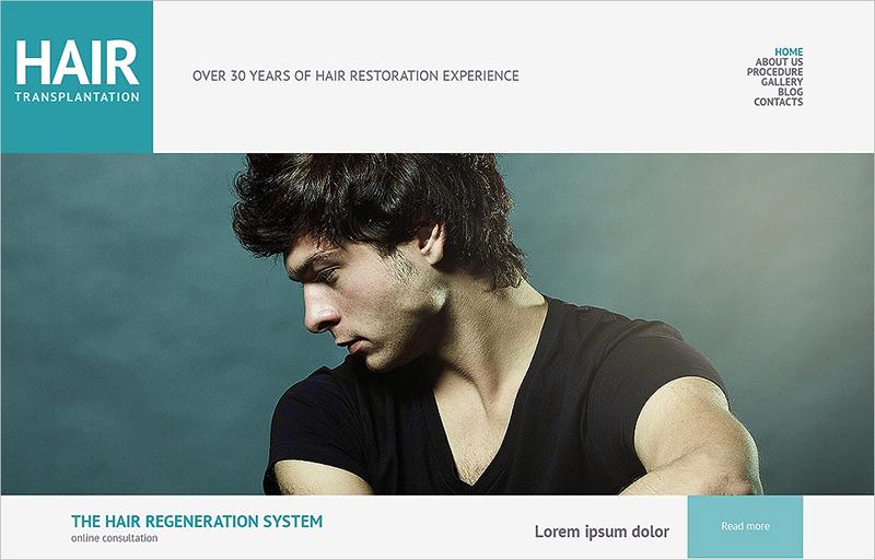 Hair Salon Responsive WordPress Theme