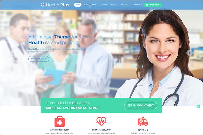 Health & Clinic HTML Template