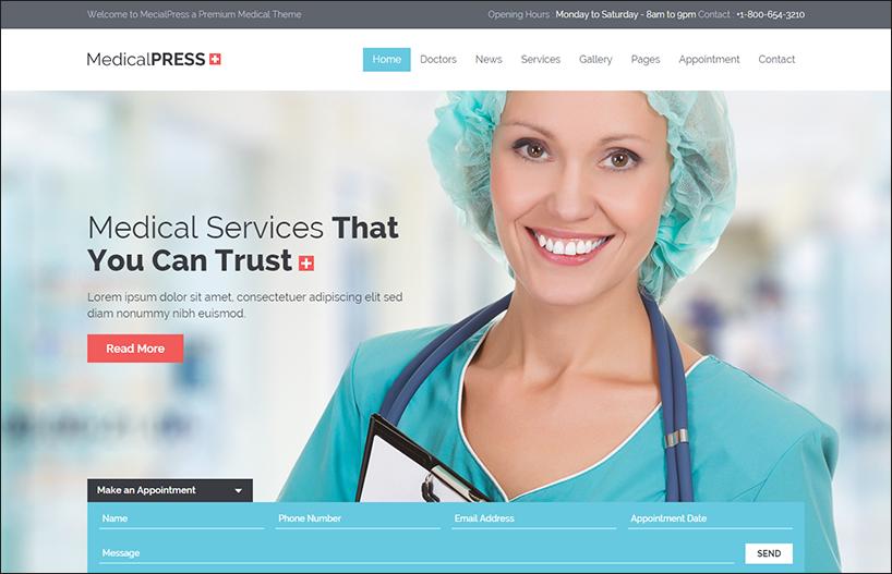 Health HTML Template