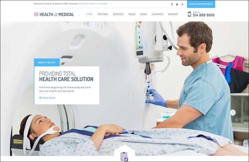 Health & Medical HTML Theme