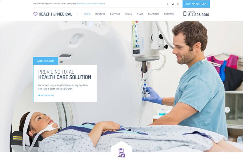 Health & Medical HTML Theme