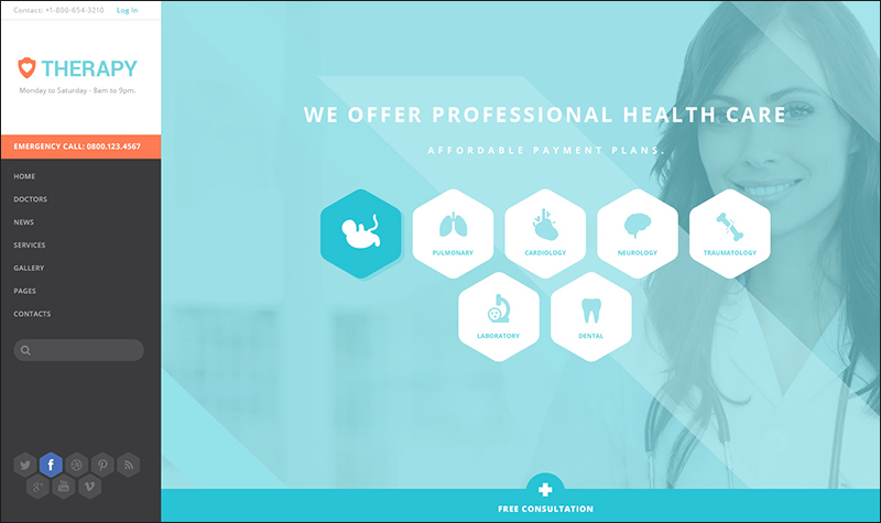 Health and Medical WordPress Theme