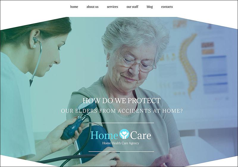 Home Care WordPress Theme