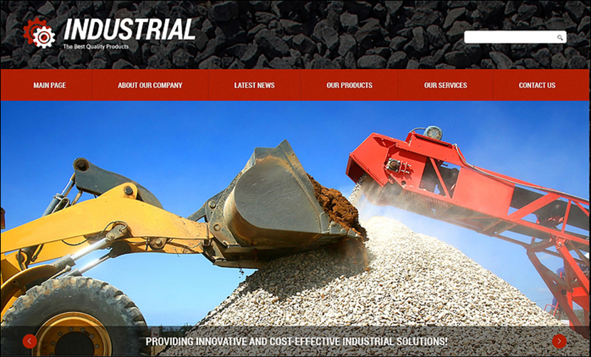 Industrial & Business Joomla Template