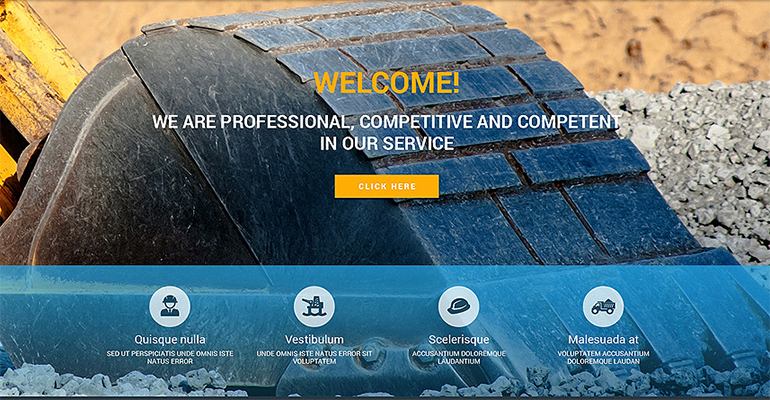 Industrial Drupal Themes