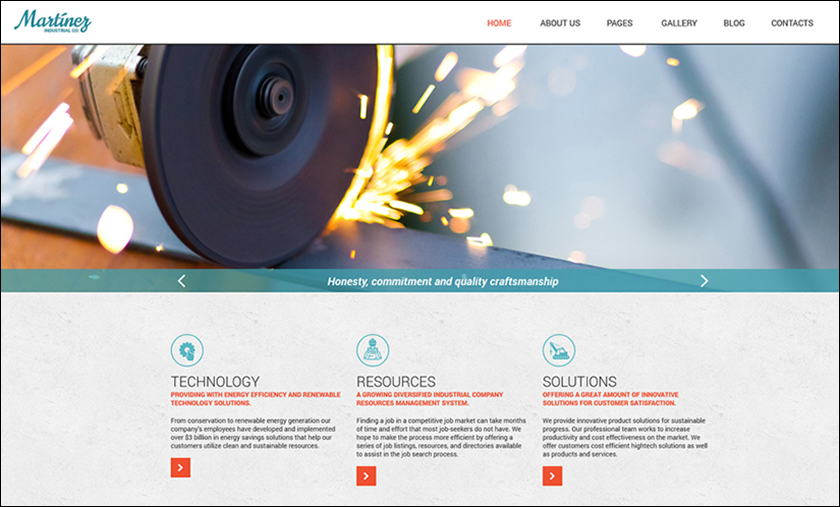 Industrial Organization Joomla Template