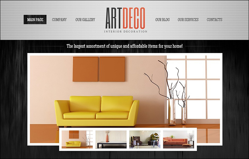 Interior design wordpress themes free premium templates for Interior design wordpress theme