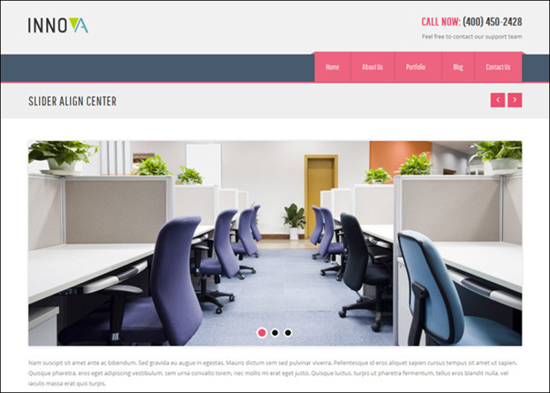 Interior & Funiture WordPress Theme