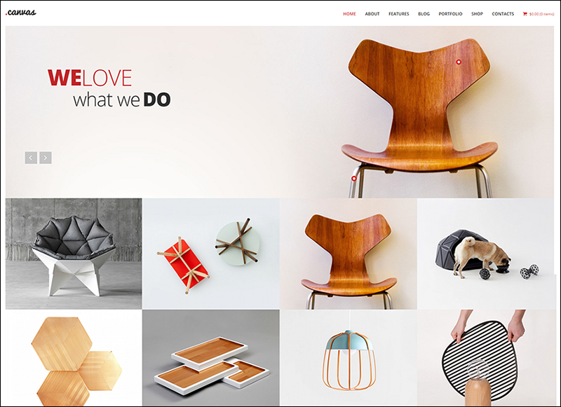 Interior & Furniture Portfolio WP Theme