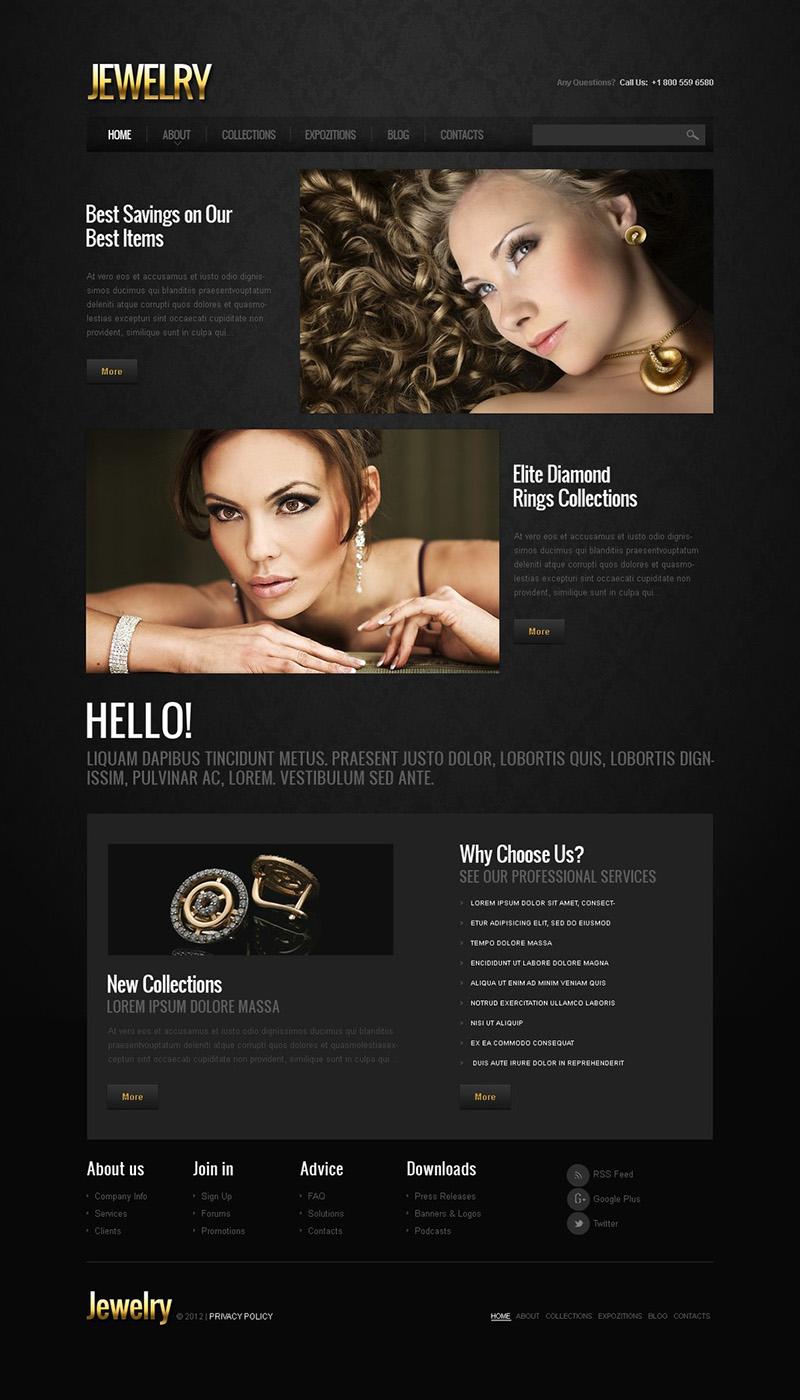 Jewelry Responsive Joomla TemplateS