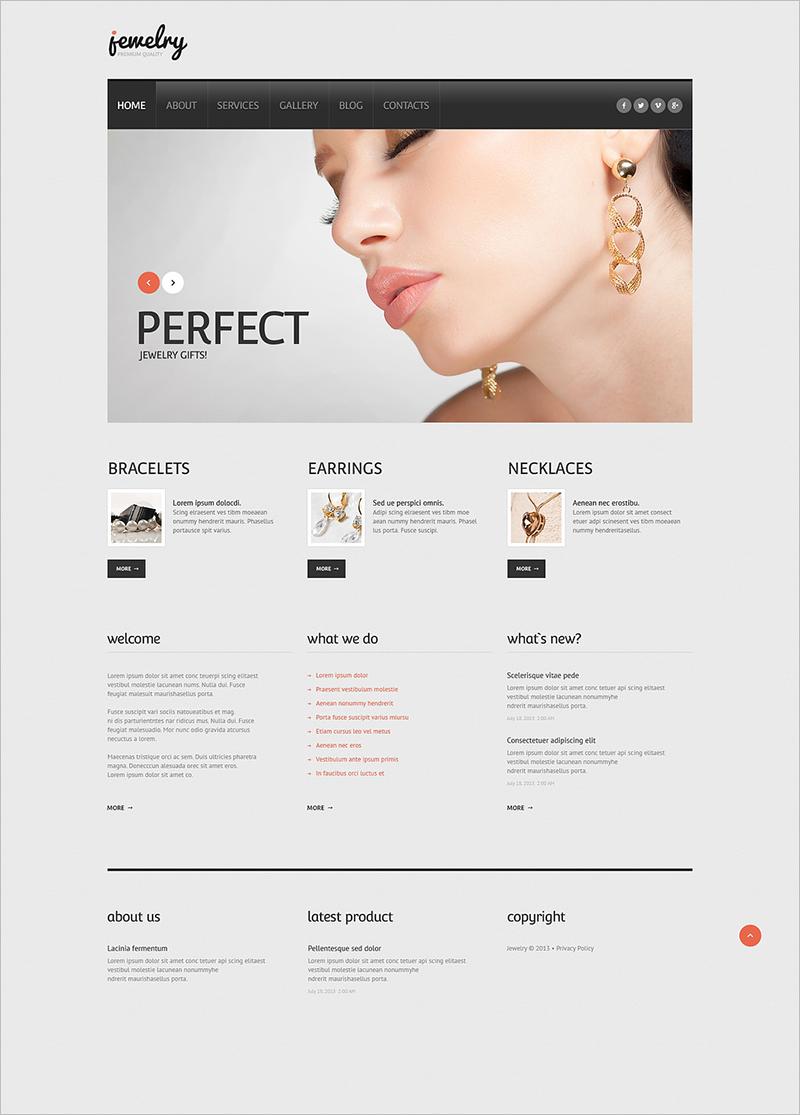 Jewelry Responsive WordPress Theme (2)