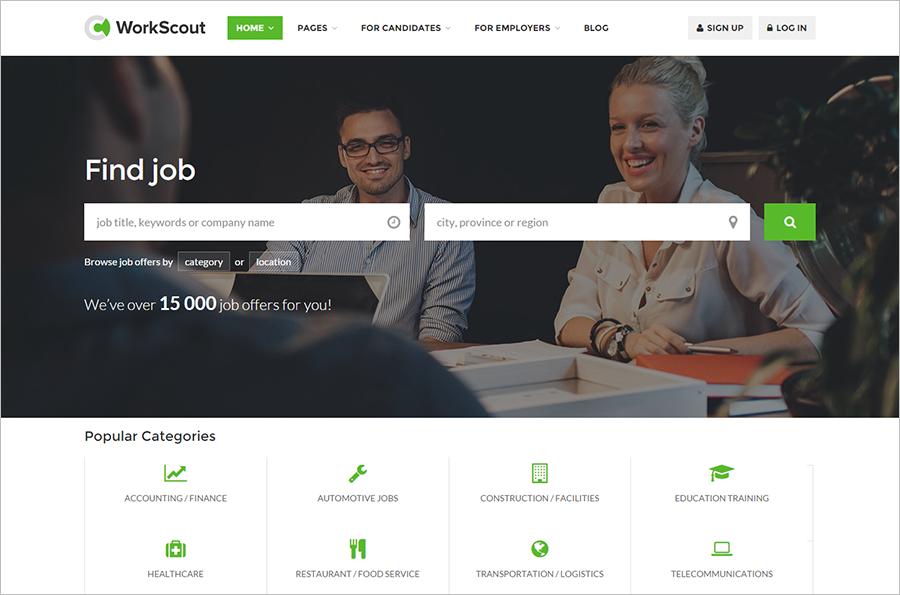 Job Portal Website Template Built On HTML5 & CSS3