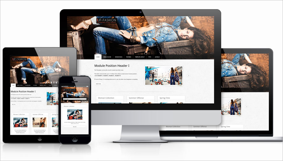 Joomla 3 Fashion Template