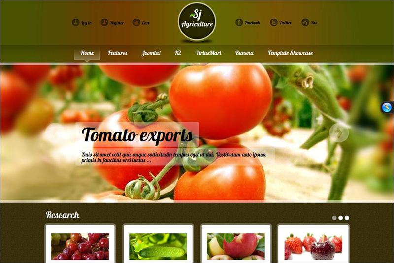 Joomla Agriculture Template