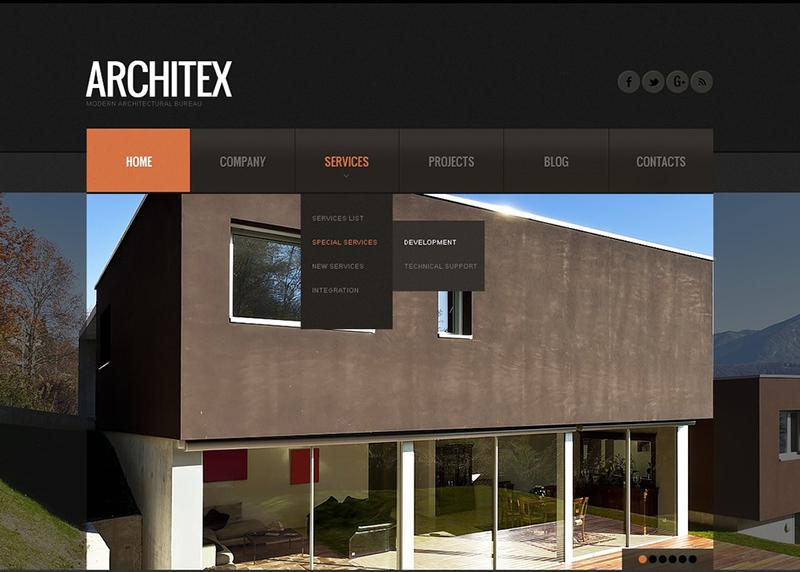 Joomla Construction Company Website Template