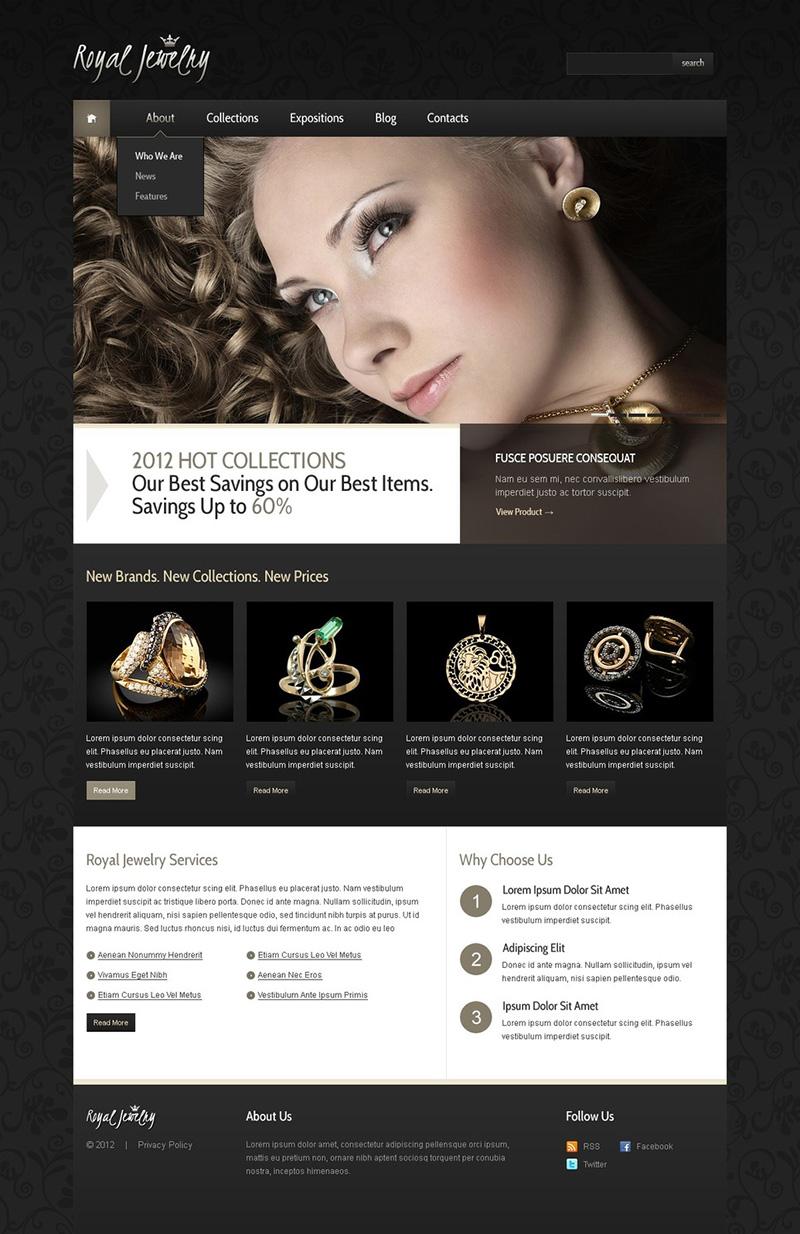 Joomla Jewelry Store Template