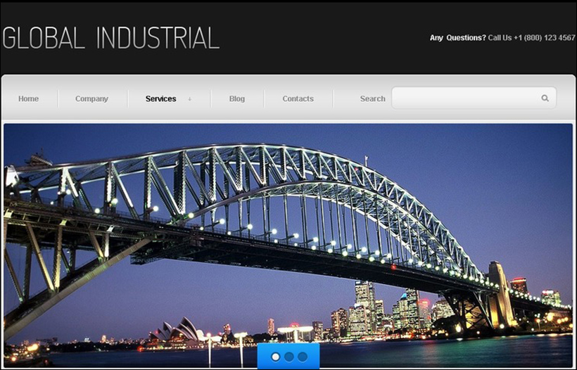 Joomla Template For Industry & Business