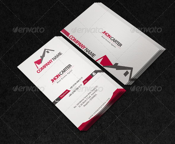 Land Marketing Agent Business Card