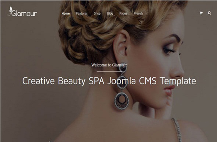 Latest Fashion & Beauty Joomla Template