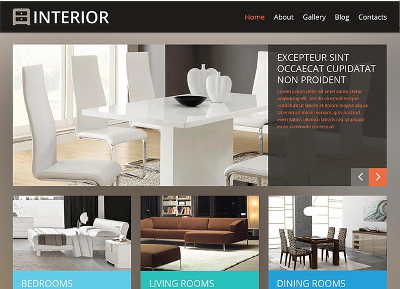 Latest Interior Design WordPress Theme