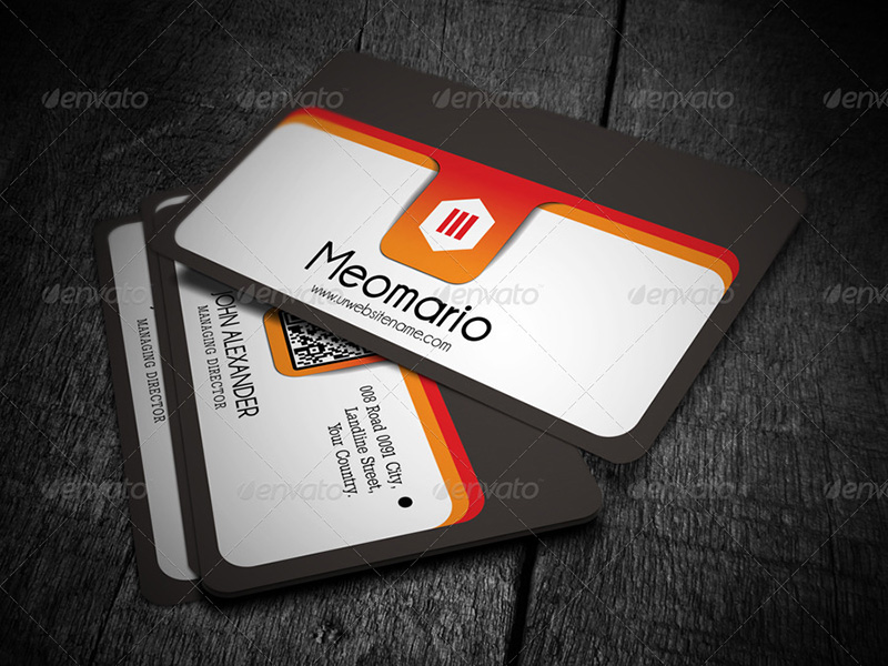 Marketing Agency Business Card Template