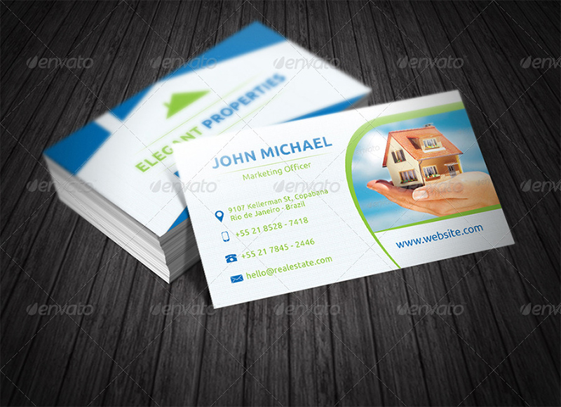 Marketing Manager Business Card
